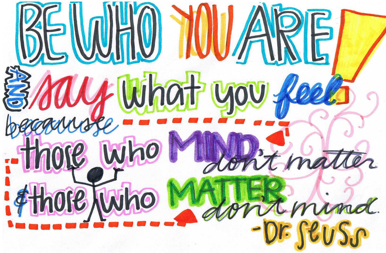 Dr Seuss Clip Art Quotes