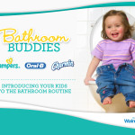 Bathroom Buddies P&G Walmart Today's Parent partnership on Potty Training.