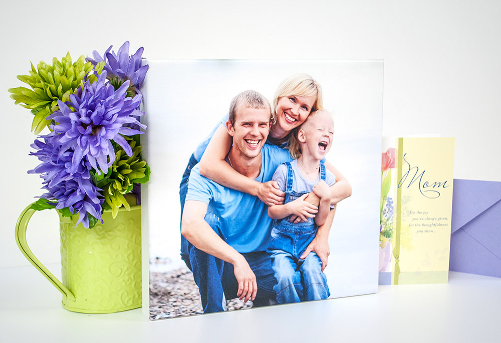 Give a Meaningful Gift This Mother's Day from Canada's Photo Art Experts at Posterjack