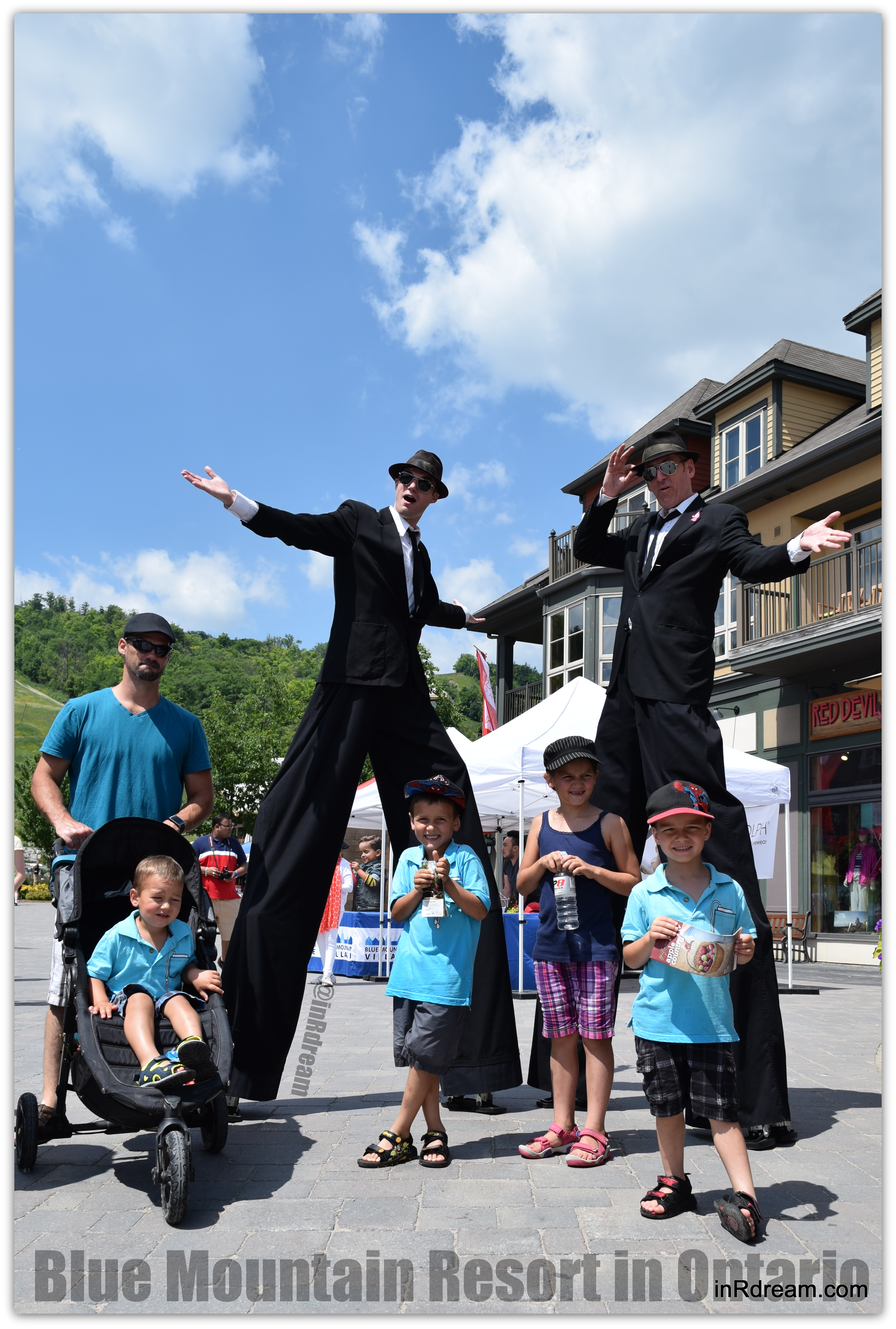 Complimentary Family Entertainment at Blue Mountain Resort Ontario #BiggerBlue