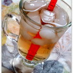 Kids Homemade Herbal Ice Tea with probiotics