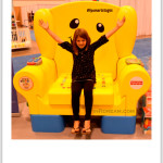 Fisher Price Laugh & Learn® Smart Stages™ Chair the baby show in Toronto #FPsmartstages