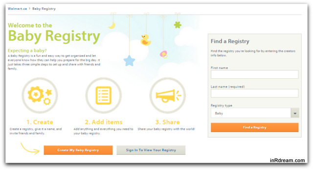 Newest Arrival: Build Your Baby Registry From Home