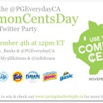 P&G is launching Use Your Common Cents Day to educate Canadians on saving made simple