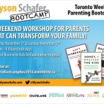 Alyson Schafer Parenting Bootcamp in Toronto