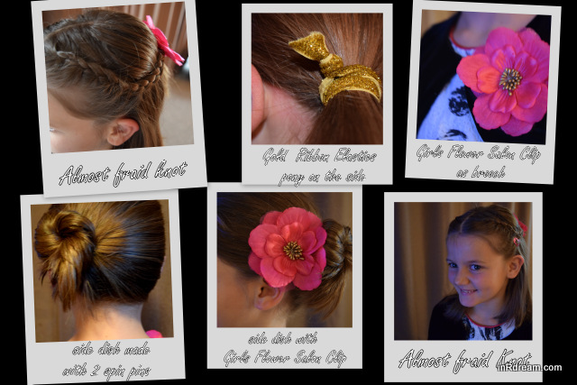 Sweet Holiday Hairstyles for Young Girls, Goody Tutorial on YouTube