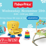 Fisher-Price #fpwishlist Twitter Party. Join us on Wednesday, November 19th at 8:00pm EST