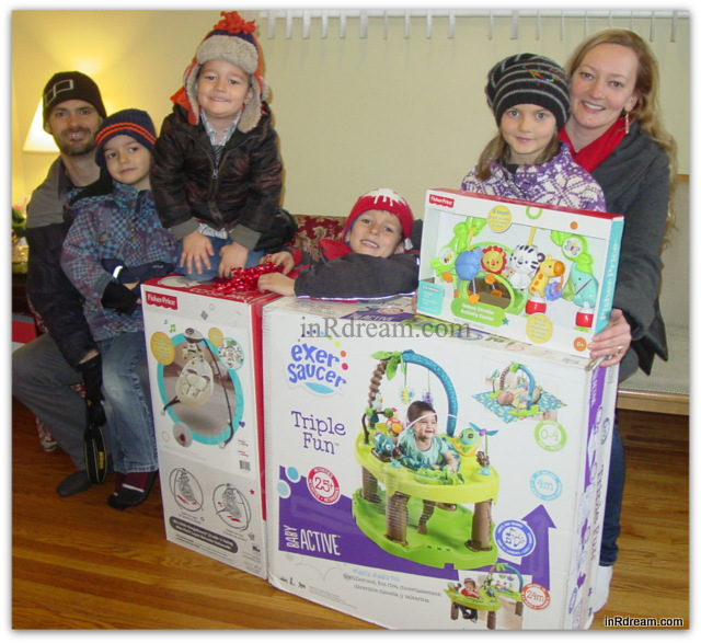Mountain of Toy Donations A Place Called Home in Kawartha Lakes Preganacy Center Ontario