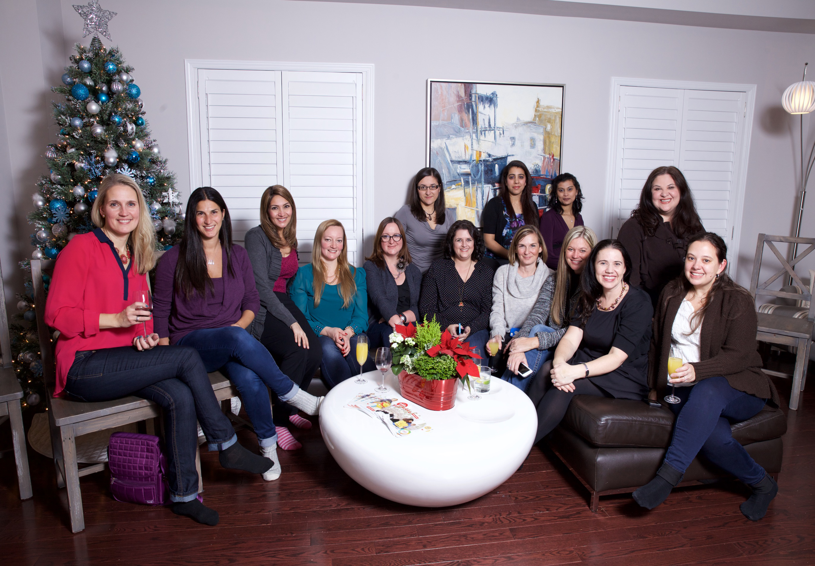 Tis' the Season for an Evening of Food, Friends & Fun at the Fisher Price Showroom