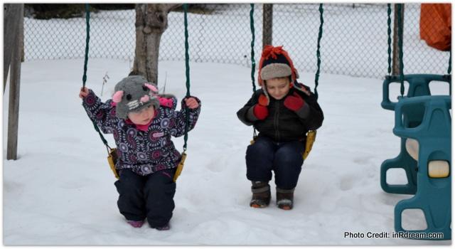 Nikon Canada Nikon Moments, Canadian Backyard Ice Rink, Canadian Winter Skating Party