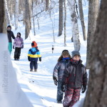Family Day weekend 2015 Ontario Pioneer Camp. Winter Hike