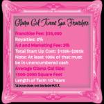 Glama Gal Tween Spa Franchising
