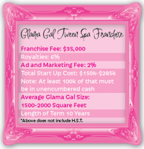 Knock. Knock. Female Entrepreneurs Grow Your Enterprise Glama Gal Tween Spa Franchise #GlamaGals