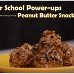 After School Power-up Peanut Butter Snack Bites, After school treats, Quick kids snacks, Kraft Peanut Butter Snack Bites