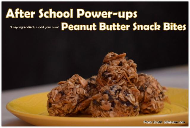After School Power-Ups: Peanut Butter Snack Bites *No Bake Recipe* #MyKPBsnackbite + Contest