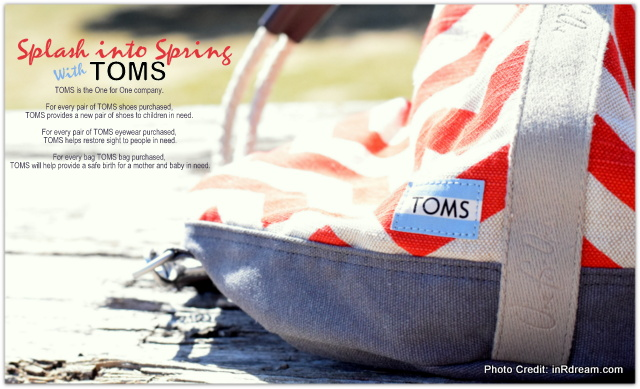 Splash Into Spring With TOMS Bags & These Cute Wedges + Give Back!