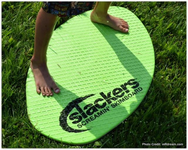 Slackers Slide and Surf Screamin' Skimboard Review