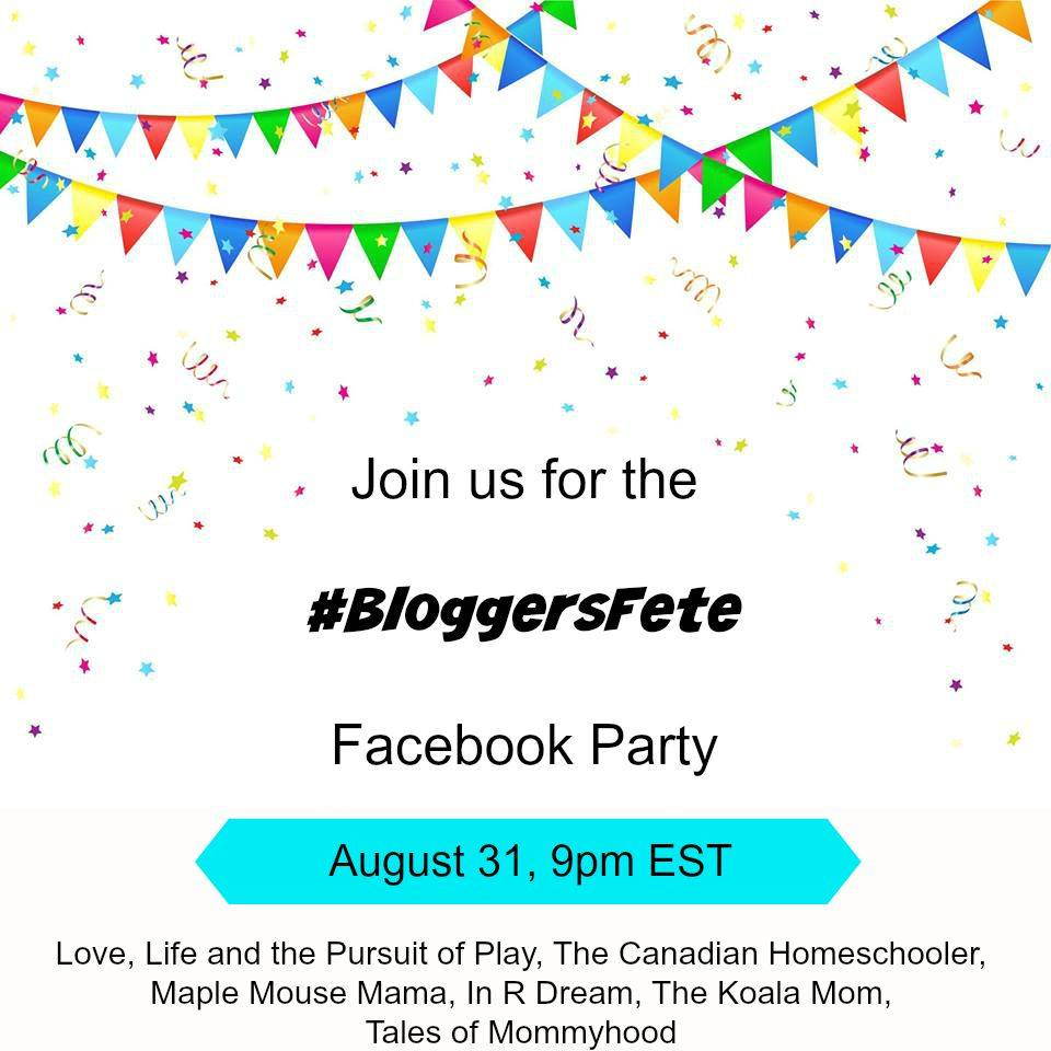 BloggersFete Facebook Party