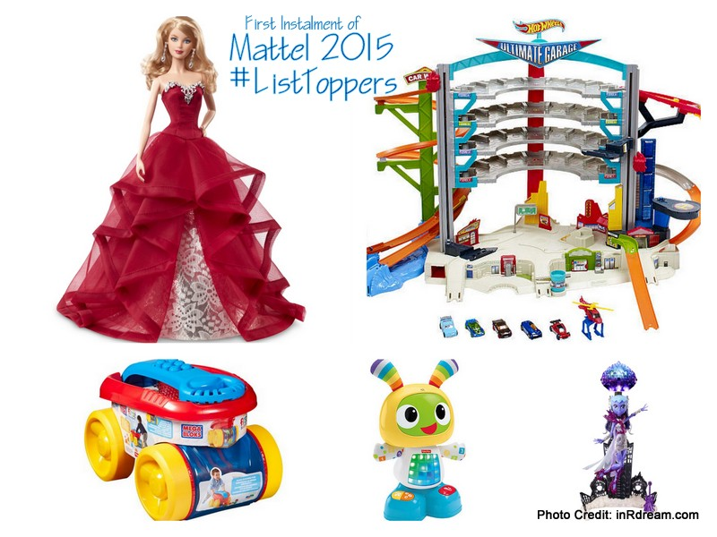 Mattel 2015 Trending Toys #ListToppers #PlayAdvocate