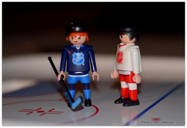 Imaginative Role Play: PLAYMOBIL NHL Hockey Theme