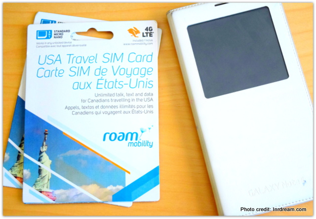 Looking for USA Data Plans For Canadians? Travel with Roam Mobility + Giveaway