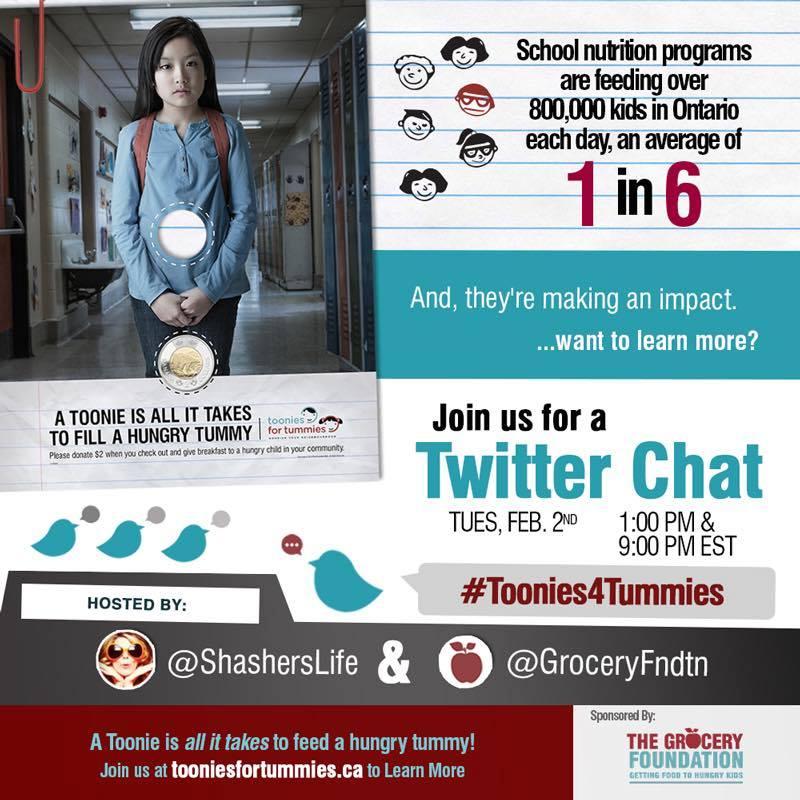 #TooniesforTummies Twitter Chat Feb 2