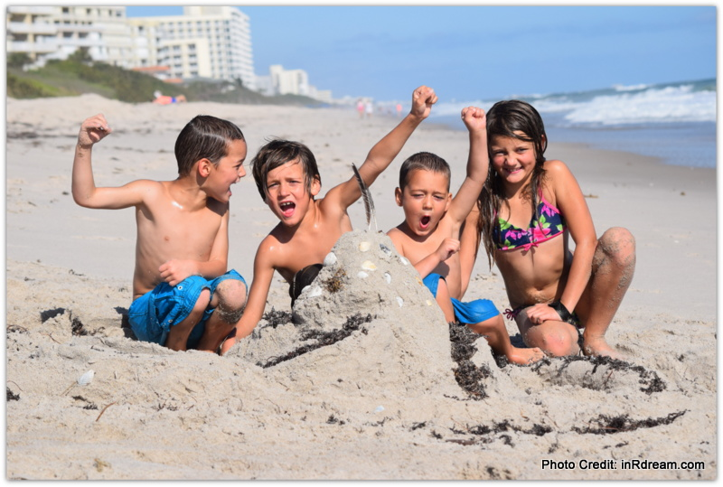 Family Travel on Melbourne beaches in Florida. Crowne Plaza Melbourne-Oceanfront review