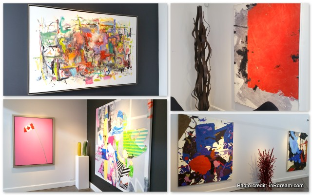 Oeno Gallery, contemporary fine art, Prince Edward County Wine Tours, The Huff Estates Inn Review