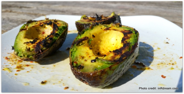BBQ Avocado -Avocados from Mexico, Grilling Avocados, Grilled Avocado and Flank Steak Sandwich, Love Avocados, Health benefits of Avocados