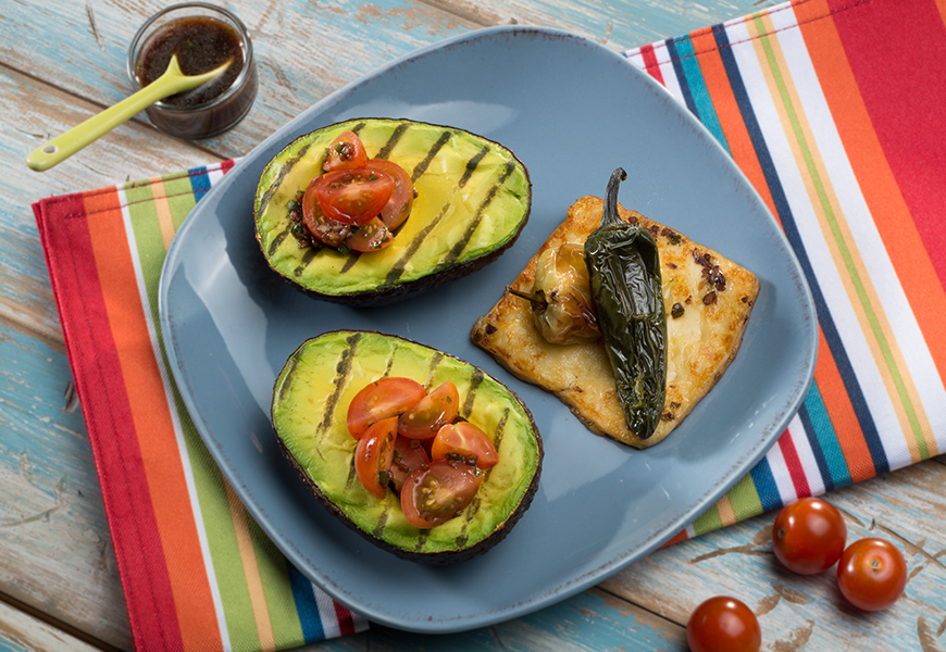 BBQ Avocado. avocados recipe, how to grill avocados, grilling avocados, grilled avocado recipe, avocados from mexico, Avocados-From-Mexico_Italian_Style_Grilled_Avocados