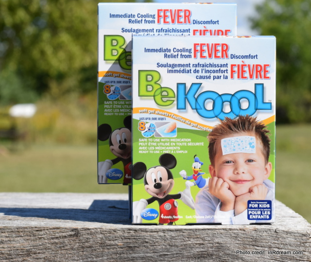 Stop Worrying About Back to School, Be Kool, Back to school worries, Germs and Back to school, Products that help with fevers,
