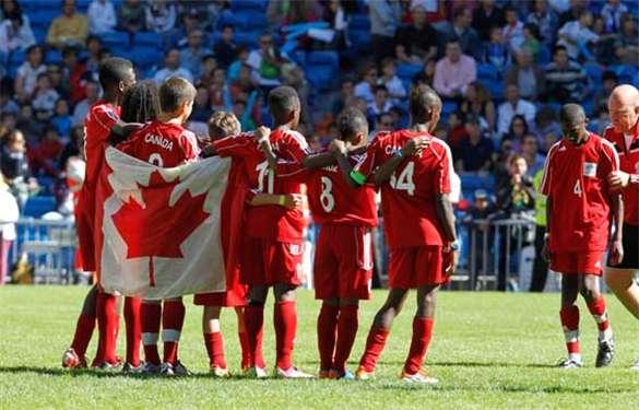 Cheer Team Canada at Danone Nations Cup – Where Kids Pursue Dreams #DNC2017