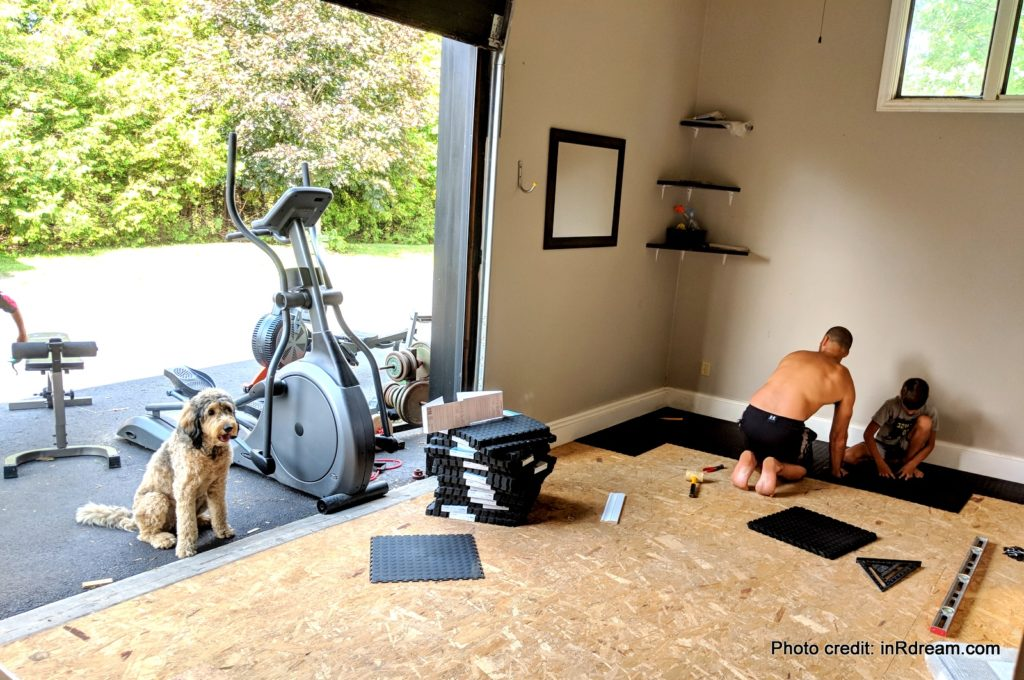 The Best Home Gym Flooring Diy Garage Renovation